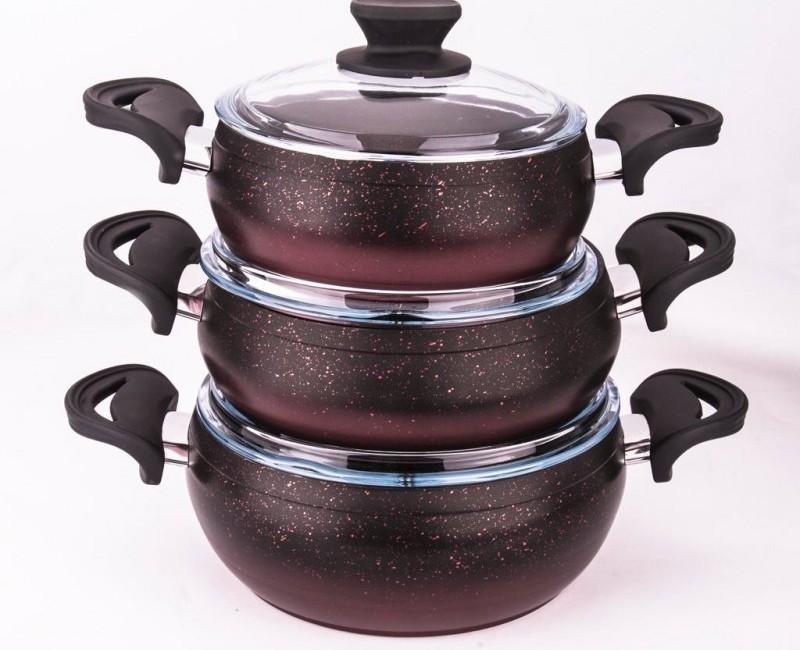 6 Parça Güveç Set (6 pieces stew Pots)
