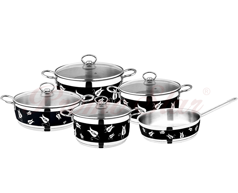 Amos Cooking Pot Set – 9 Pieces