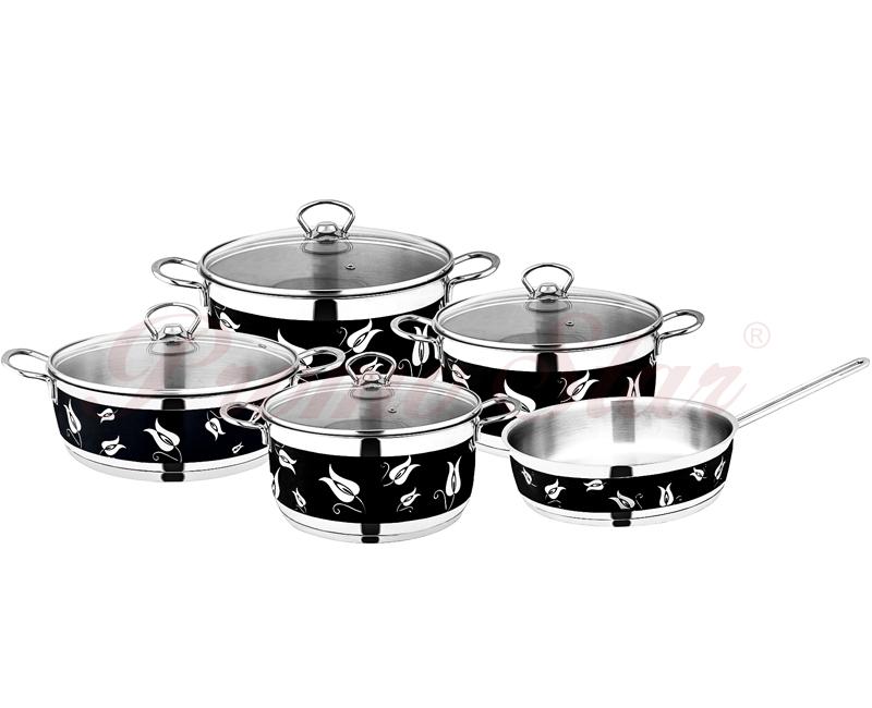 Amos Cooking Pot Set – 9 Pieces